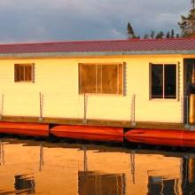 bateau maisons mauricie gouin