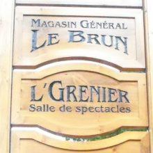 Dans lgrenier magasin général LeBrun 600X400