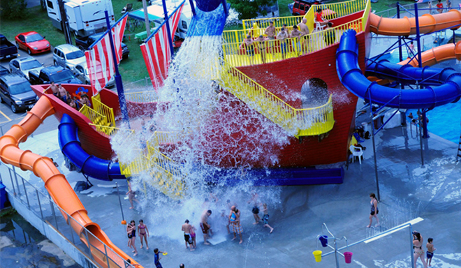 43 campings familiaux au qu bec qui feront le grand for Club piscine shawinigan sud