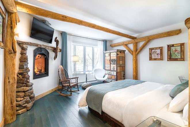 Hotel Chambre Foyer : Magnifiques chambres en mauricie qui font rêver