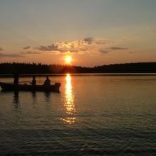 coucher soleil gouin