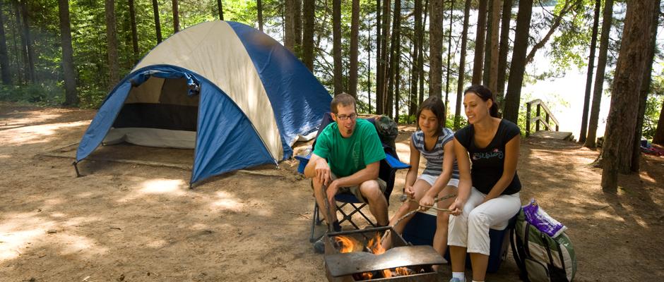 location tente camping quebec