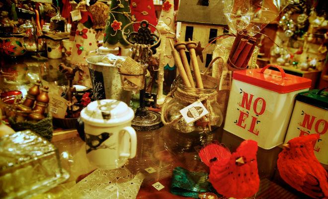 Boutique de Noël et décorations en Mauricie