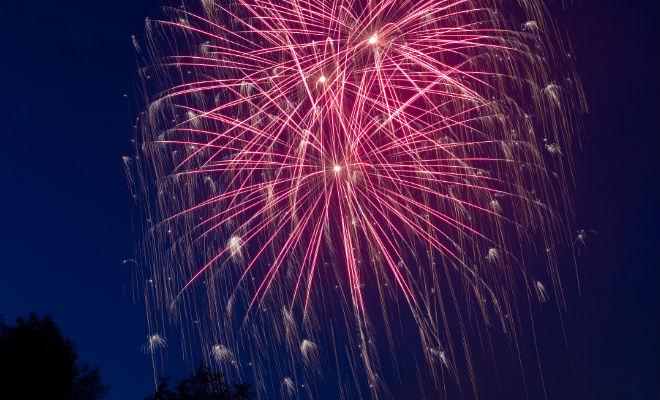 feux d'artifice à Shawinigan pour la fin de semaine fête du travail