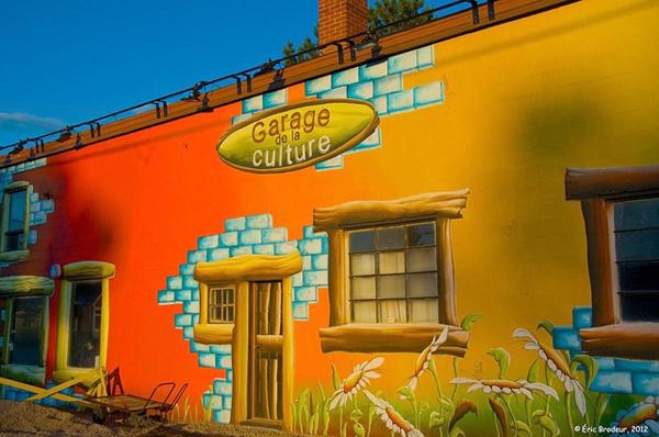 Garage de la culture st-élie-de-caxton
