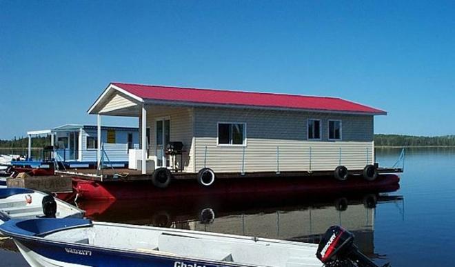 bateau maison reservoir gouin