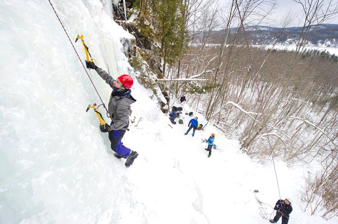 escalade de glace maikan