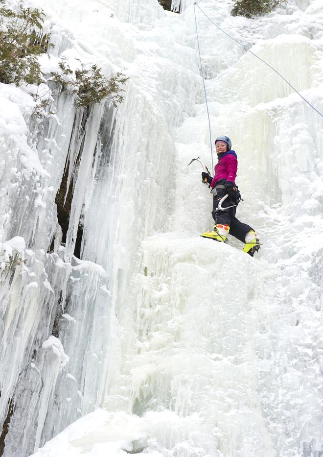 escalade de glace mauricie