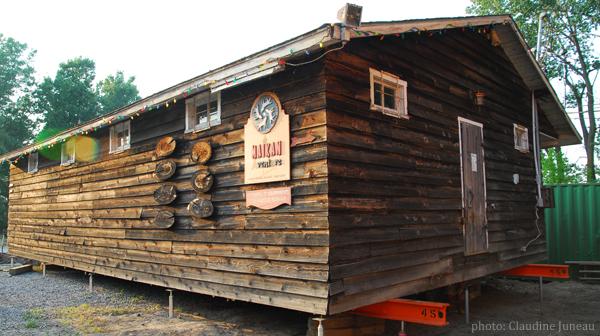 vieille cabane Maikan Aventure