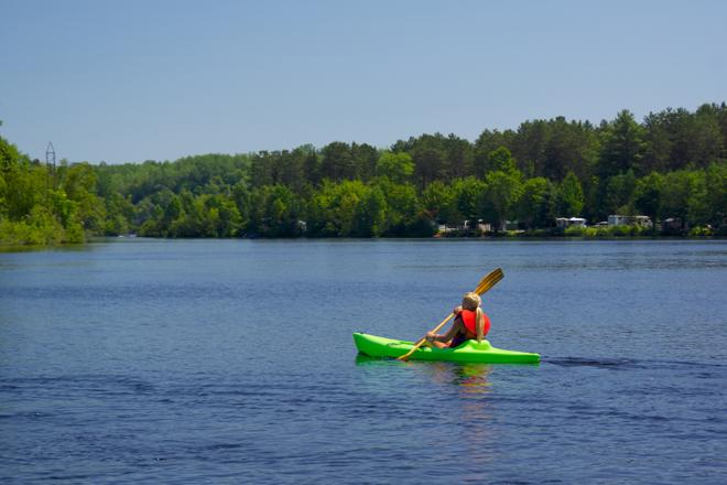 kayak riviere st-maurice