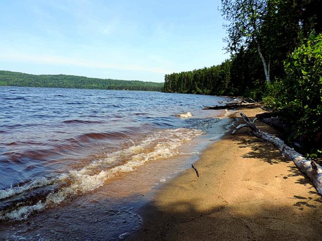 plage lac oscar