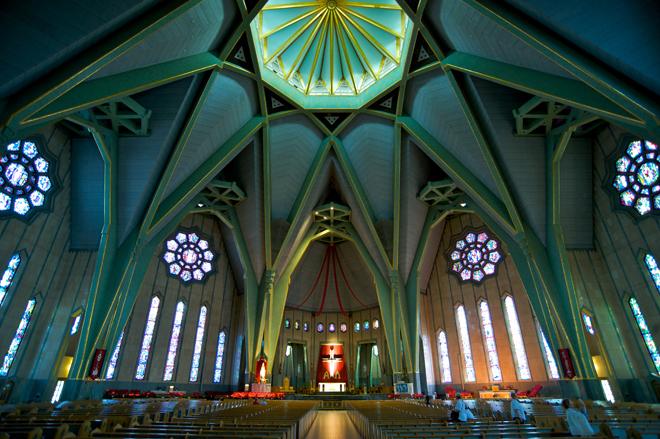 Sanctuaire Notre Dame du Cap-de-la-Madeleine, Mauricie, Québec