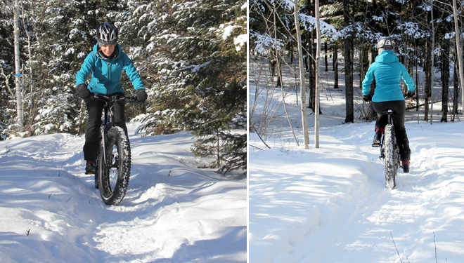 fatbike parc national mauricie