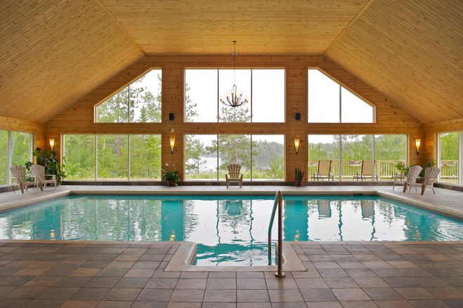 Piscines int rieures en mauricie 8 endroits o se for Piscine du lac tours