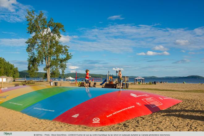22/08/2015 prise de vue au centre touristique du lac simon en outaouais duhamel qc Canada (photo/steve deschenes)