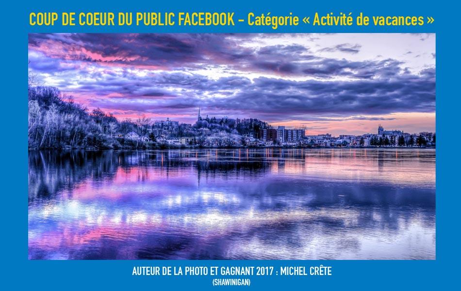 Gagnant Facebook de la catégorie Scène urbaine du concours Focus sur la Mauricie 2017