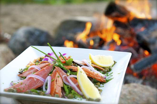 Meilleurs restaurants en Mauricie, pourvoirie du Lac Blanc