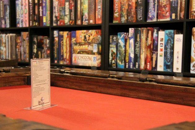 Table de jeu - Les Dés Truqués
