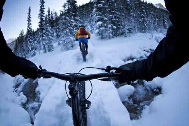 fatbike - vélo des neiges