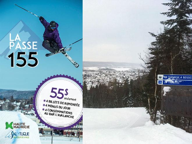 Ski La Tuque - Passe 155