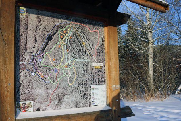 Ski La Tuque - Sentiers de raquette