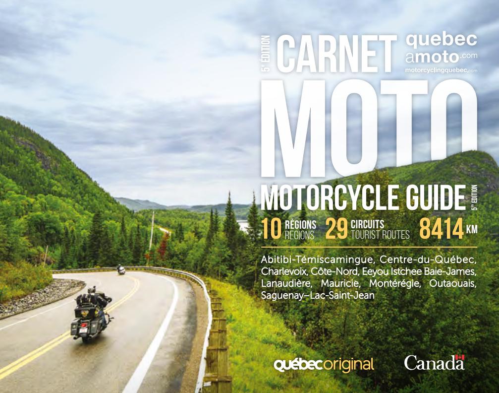 Carnet Québec à moto
