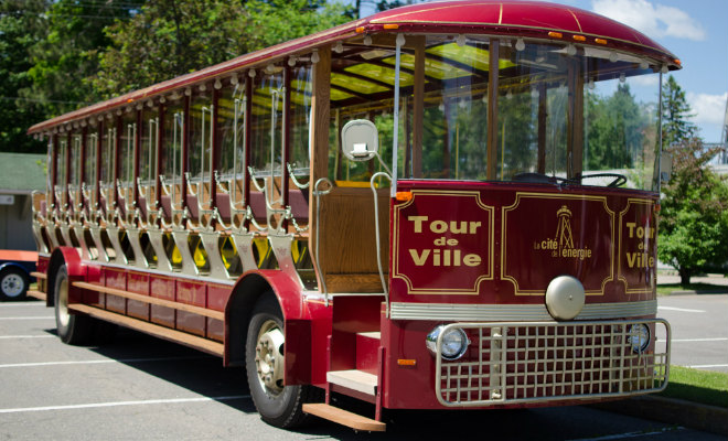 Trolley bus de Shawinigan