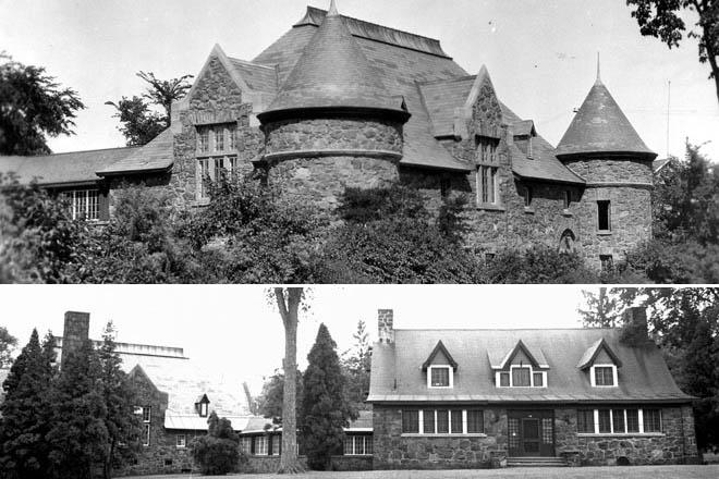 Photos d'époque de la Maison de la culture Francis-Brisson