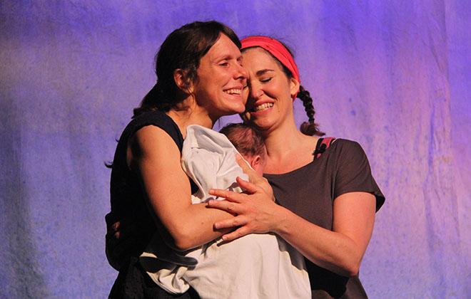 Mylène Paquette et Tammy Verge
