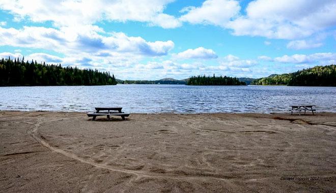 plage Lac-Édouard