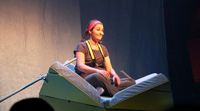 Tammy Verge dans La Promesse de la Mer