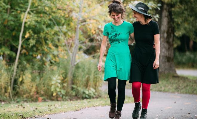 vêtements écorespossables faits au Québec