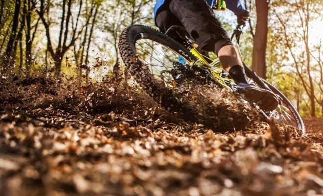 Vélo de montagne, activité pour l'action de grâce en Mauricie