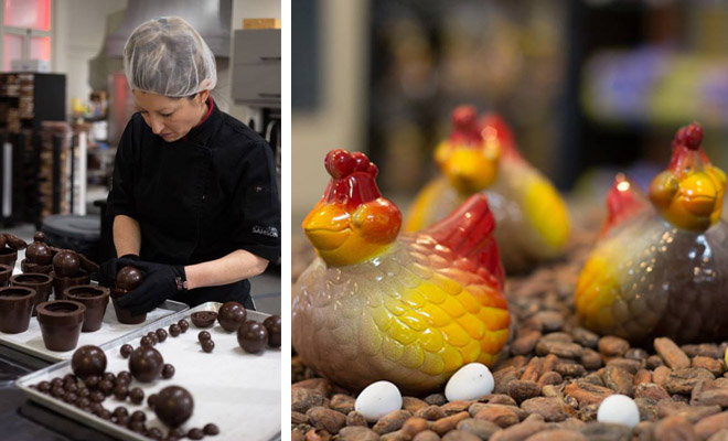 Chocolaterie Samson, livraison de chocolats de Pâques à Trois-Rivières