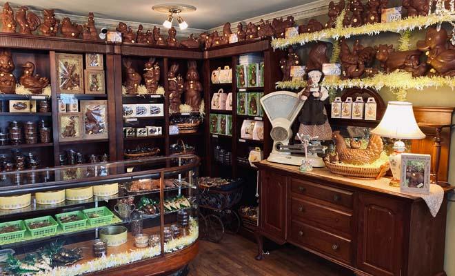 La Chocolatière d'Autrefois, livraison de chocolats de Pâques à Shawinigan