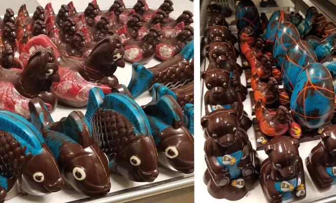 Pâtisserie le Palais, livraison de chocolats de Pâques à Shawinigan