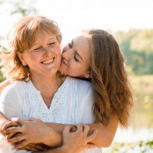 Mère et fille, fête des mères