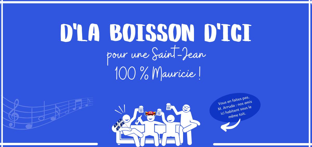 Mauricie, boire local à la Saint-Jean