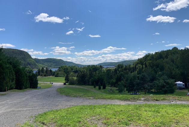 Camping Mauricie Vue Stationnement