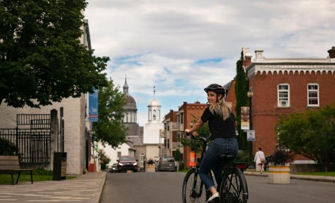 Découvrir Trois-Rivières en vélo électrique, activité Escapade Mauricie