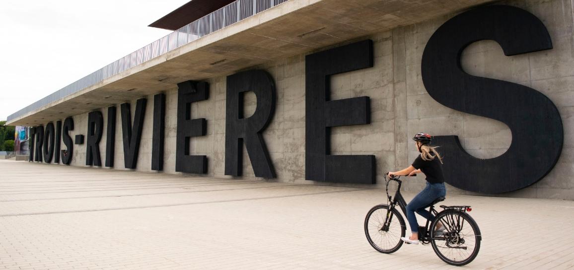 Visiter Trois-Rivières en vélo électrique avec Escapade Mauricie