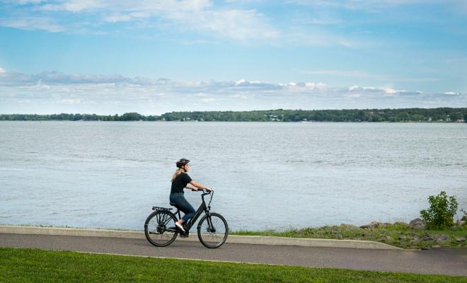 Louer un vélo électrique à Trois-Rivières, Escapade Mauricie