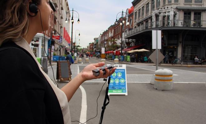 Audioguide tour guidée Trois-Rivières illicite