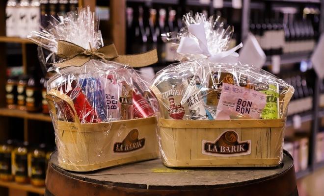Paniers-cadeaux de produits locaux pour amateurs de bières