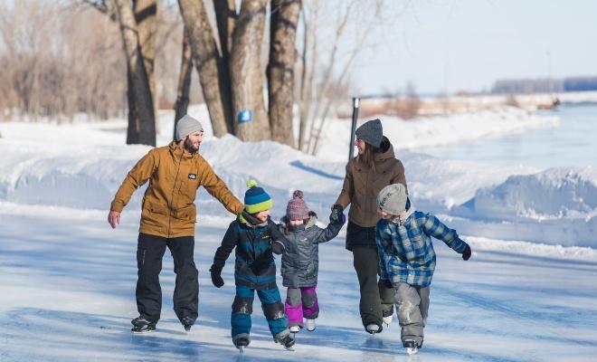 Activités extérieures gratuites à Trois-Rivières pour l'hiver