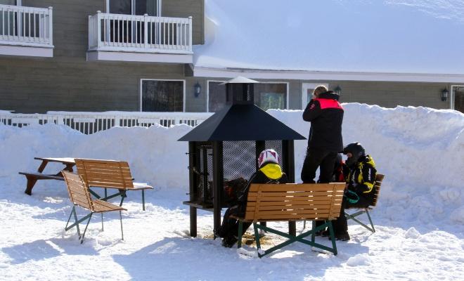 Quoi faire en hiver à la Pourvoirie du Lac Blanc