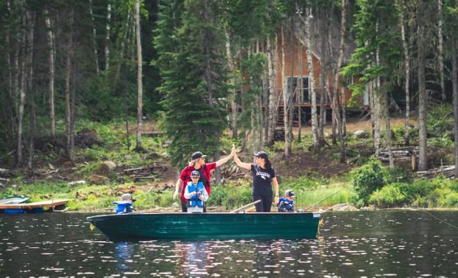 Pourvoiries familiales pour des vacances en famille au Québec