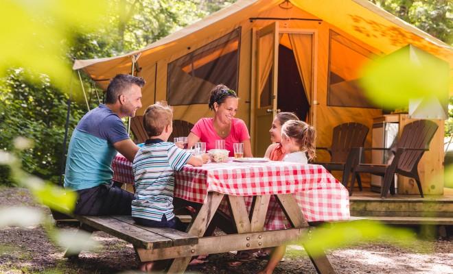 tentes prospecteurs et prêts-à-camper en Mauricie