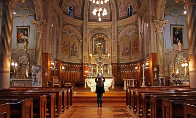 église Champlain, activité en réalité augmentée