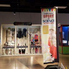 Musée POP Exposition Le match parfait sport vs science